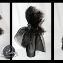 Silver steampunk minihat collage